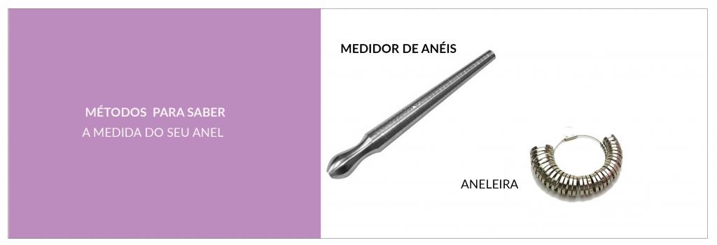 bee966dbc Um dos modos mais indicados para descobrir sua numeração são a aneleira e o  medidor de anéis. Ambos pode ser encontrado em qualquer joalheria.