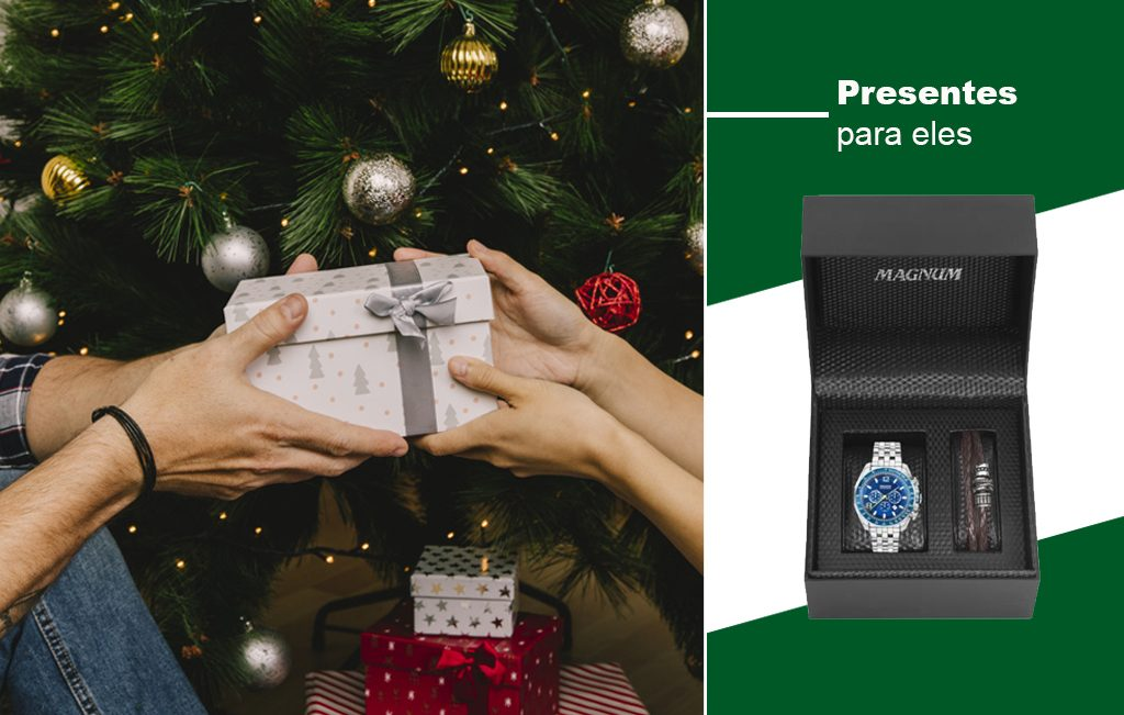 Presentes de Natal para eles Joias Vip