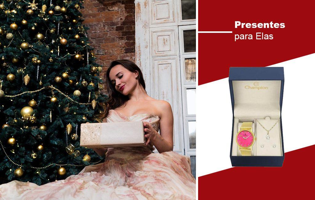 Presentes de Natal para elas Joias Vip