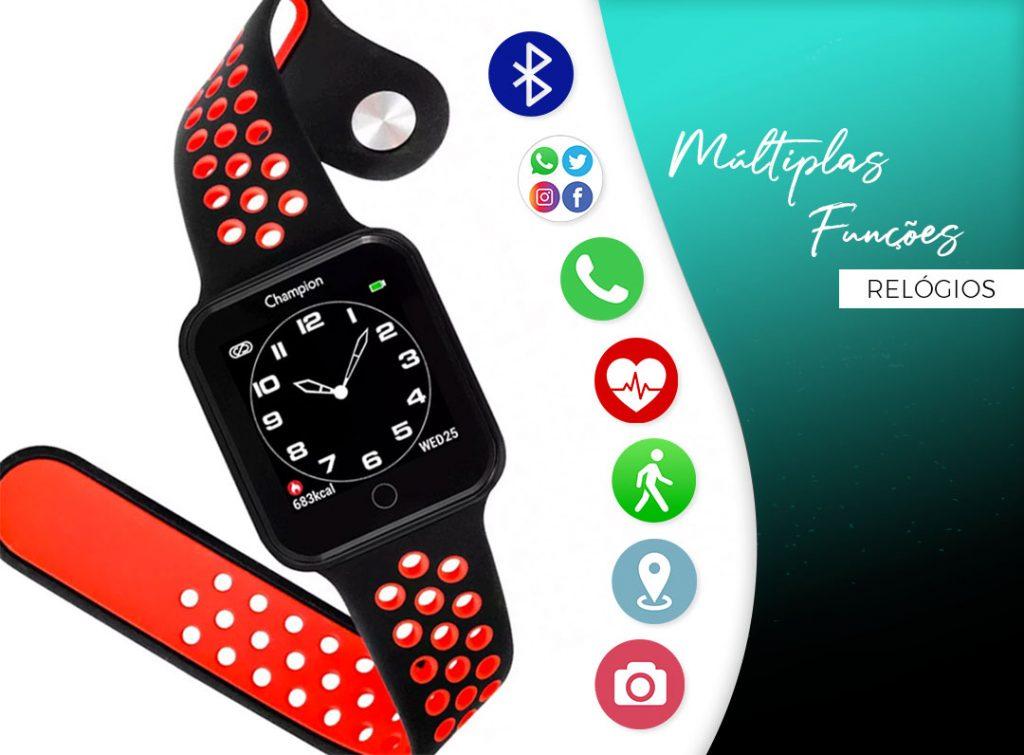 Novos Smartwatches da Champion!