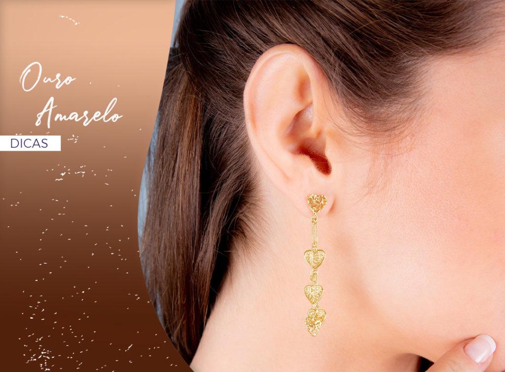 Combine o bronzeado com a joia certa!