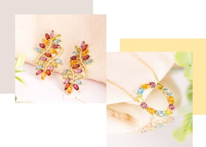 joias com gemas brasileiras