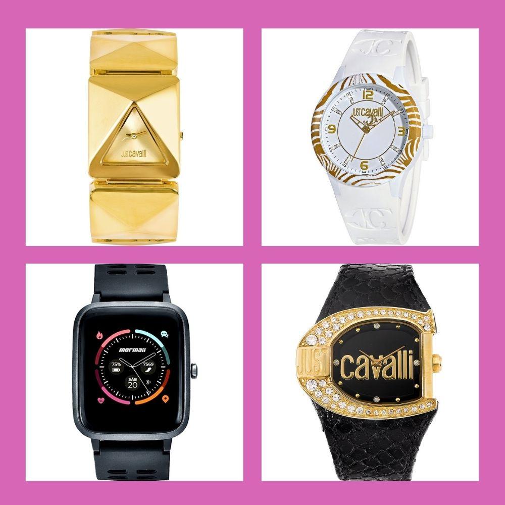 Relógios estilos universais moderno